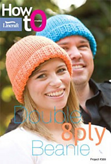 Lincraft Free Knitting Patterns : Ravelry: Double 8 ply Beanie pattern by Lincraft