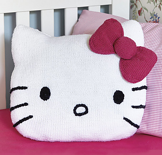 Knitting Pattern Hello Kitty : Ravelry: Hello Kitty! Fun Cushion pattern by Frederica Patmore