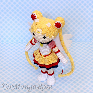 Amigurumi Sailor Moon Luna : Ravelry: Eternal Sailor Moon Amigurumi Doll pattern by ...