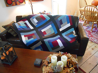 Ravelry: Learn to Knit a Log Cabin Blanket pattern by Staci