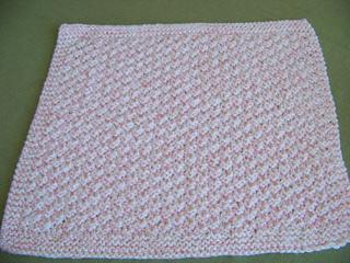 0f3b253b8 Ravelry: Box Stitch Preemie Baby Blanket pattern by Joan Laws