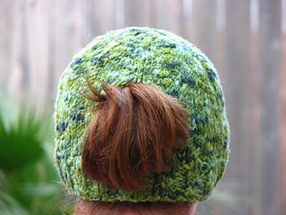70aeb1827f5 Ravelry  Ponytail Pi Hat pattern by Katherine Lane Hughes