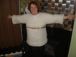 c4ec20b8317 Ravelry  Garter Stitch and Stocking Stitch Sweater pattern by Patons