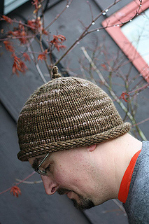 2a543b3e542 Ravelry  Easy Roll Brim Knit Hat pattern by Laurie Perry