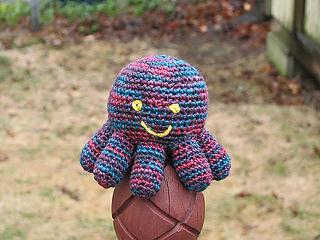 Amigurumi Octopus pattern by Lion Brand Yarn - Ravelry