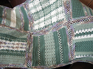 Ravelry: Learn-to-Crochet Afghan pattern by Gloria Tracy and Susan Levin
