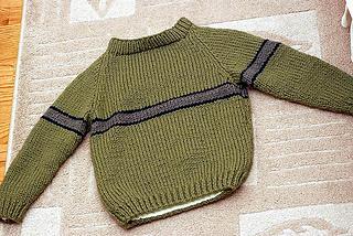 14017c628 Ravelry  Child s Raglan Sleeve Pullover pattern by Lion Brand Yarn
