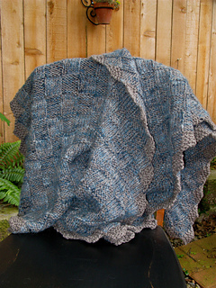 Ravelry: Textured Squares Mohair Shawl pattern by Nancie M  Wiseman