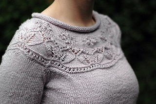 57473ccea Ravelry   13 Yoke Detail Sweater pattern by Debbie Bliss