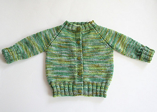 673f45348 Ravelry  Top Down Raglan Baby Sweater pattern by Carole Barenys