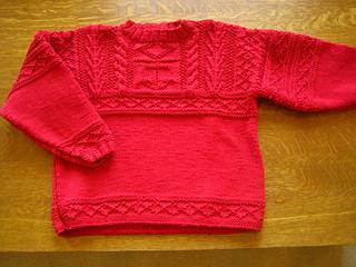 Ravelry Fisherman Sweater Pattern By Kim Hargreaves