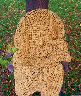 Ravelry: Waterfall Throw (Knit) pattern by Lion Brand Yarn