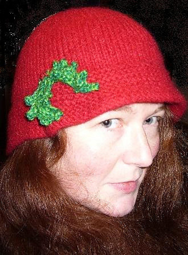 9472f071ee1 Ravelry  Christmas Cloche pattern by Sally Pointer  Wicked Woollens