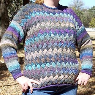 Ravelry Entrelac Sweater Pattern By Debbie Bliss