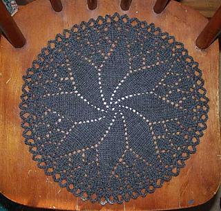 04fe9c69c93dff Ravelry  Pinwheel doily 1 pattern by Knitting Fool
