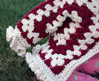 606e72dc1 Ravelry  Hexagon Baby Jacket with Ruffles pattern by Elisa Purnell