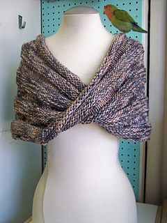5a8d7ba9c02 Ravelry  Easy Mobius Capelet pattern by Haley Waxberg