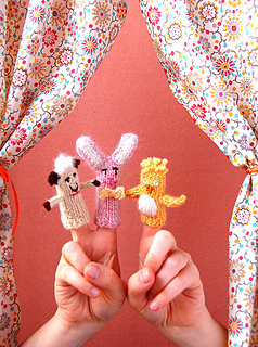 Ravelry: Easter Finger Puppets pattern by Purl Soho