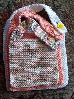0c61e91258f57 Ravelry  Simple Baby Bib pattern by Colleen Kadleck