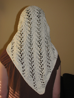 Ravelry Vine Lace Headscarf Pattern By Knit Picks Design Team