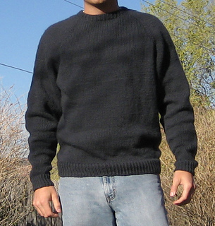 bc37777d2 Ravelry    991 Neck down Pullover for Men pattern by Diane Soucy