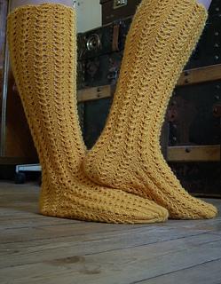 Ravelry Knitting Vintage Socks New Twists On Classic Patterns