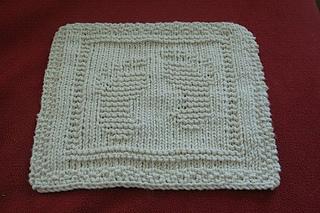 cfe083b1f894 Ravelry  OPHELIA baby footprint dishcloth pattern by Bridget McKenzie