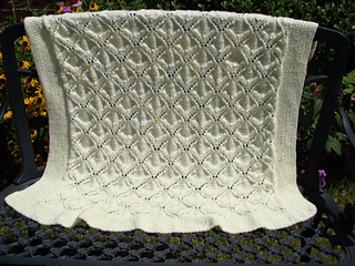 Ravelry Angel Wings Baby Blanket Pattern By C Lee Goss