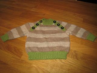 ceaf6f57a44c 0812-5D Striped raglan sweater ...
