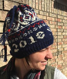 a5c4c7baeb2 Ravelry  USA 2018 HAT PyeongChang pattern by anniam--Ann Schneider