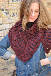 Colonnade Shawl pattern by Stephen West