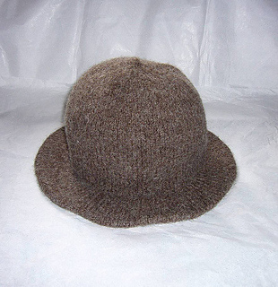 02047cbc7f0 Ravelry  Broad Brimmed Monmouth Cap pattern by Sally Pointer  Wicked ...