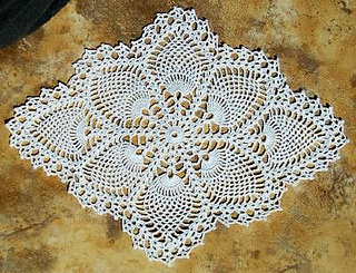 Ravelry Pineapple Doily 7714 Pattern By The Spool Cotton Company