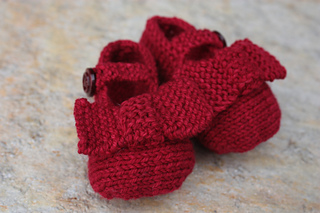 a94b9326d Ravelry  Bow Shoes pattern by Sublime Yarns