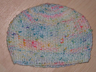 7adf0c1c8aa Ravelry  Simple Moss Stitch Baby Hat pattern by Vivianne Kacal