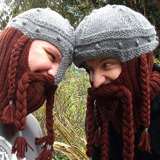 5af7b397dac Ravelry  Dwarven Battle Bonnet pattern by Sally Pointer  Wicked Woollens
