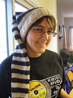 Ravelry  Stocking Cap With Long Tail pattern by Nathalie Godbout 5b3cf89ce74