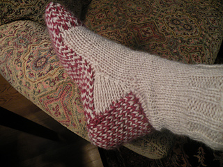 c5b50a558b7 Ravelry  Hot Potato Socks pattern by Sally Pointer  Wicked Woollens