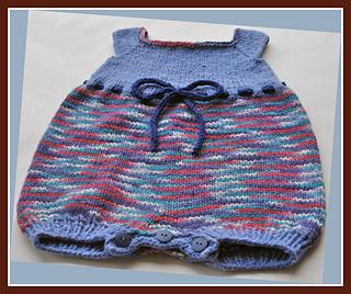 c871eeaac9f Ravelry  Molly Bubble Romper pattern by Elizabeth Daugherity