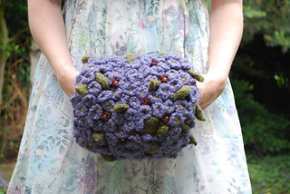 Ravelry Tiny Violet Hand Puff Pattern By Tiny Owl Knits