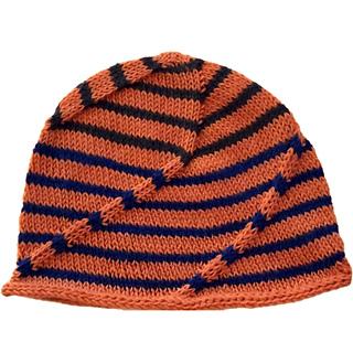 82bc2bbca2a5d Ravelry  Swirly Swoosh Hat pattern by Jenn Wisbeck