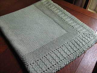Ravelry Sleeping Beauty Baby Blanket Pattern By Diana Matthews