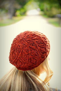 ab53024177f Ravelry  Autumn Vines Beret pattern by Alana Dakos