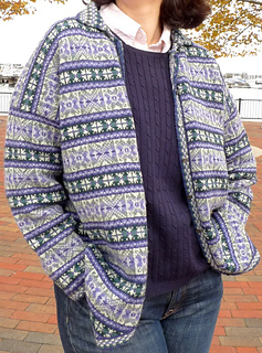Ravelry 06 Fair Isle Cardigan Pattern By Alice Starmore