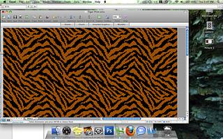 Ravelry: Tiling Tiger Print pattern by Alyssa Lynough