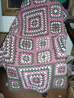 Ravelry: Granny Afghan pattern by Mary Maxim