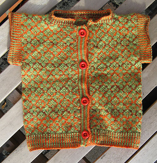 222b16df7 Ravelry  Baby s First Fair Isle Sweater pattern by Susan Gutperl