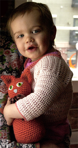 0a56d33859c1 Ravelry  Beyond Rectangles Baby Cardigan pattern by Linda Permann