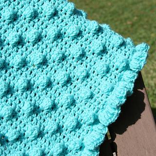 004503eea952b Ravelry: Polka Dots & Frills Baby Blanket pattern by Lauren Brown
