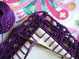 Ravelry: Around the Corner - Crochet Borders - patterns